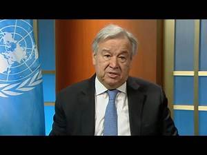 UN chief on COVID-19 and misinformation