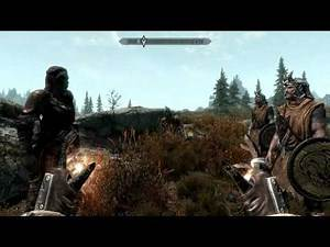 Skyrim quests - killing of the first dragon