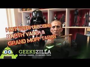 Grand Moff Tarkin & Darth Vader Hot Toys Unboxing
