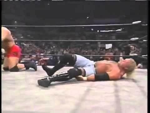 Sid Vicious Leg Break WCW - Psycho Sid breaks his leg - Wrestling is real