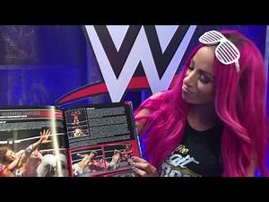 Sasha Banks is the Boss of WWE's 100 Greatest Matches Book