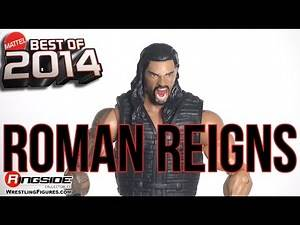 WWE FIGURE INSIDER: Roman Reigns - Best Of 2014 Wrestling Action Figures RSC Review