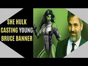 Disney She Hulk Casting YOUNG Bruce Banner