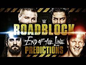 WWE Roadblock: End of the Line 2016 FULL MATCH CARD Preview & Predictions!