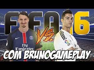 FIFA 16 - PSG x Real Madrid A REVANCHE