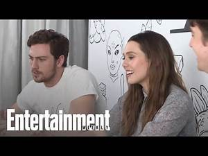Avengers: Age of Ultron' Stars Elizabeth Olsen & Aaron Taylor-Johnson | Entertainment Weekly