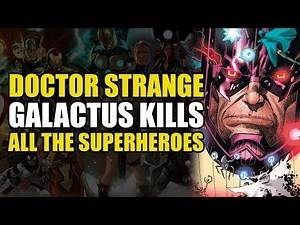 Galactus Kills All The Superheroes | Comics Explained