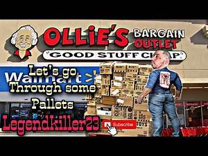 Wwe toy hunt, let's go through some pallets!!