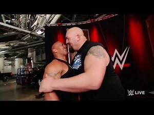 Big show crashed his laptop because of the rock