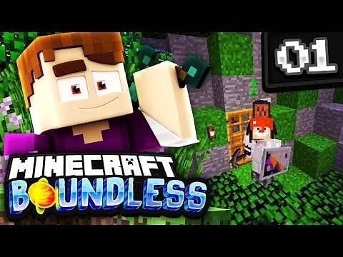 BEST MODPACK EVER!! (Minecraft Boundless Modded Survival)