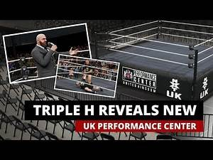 Triple H reveals *NEW* WWE UK Performance Center (WWE 2K19 Arena + Highlights)
