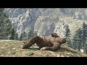 GTA V: The Last One (Bigfoot Hunting & Angry Mountain Lion! 100% Mission Gameplay)