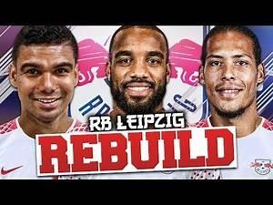 REBUILDING RB LEIPZIG!!! FIFA 18 Career Mode