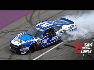 Tyler Reddick puts on a show after Michigan victory