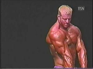 SUPERHEAVYWEIGHT Bodybuilder Scott Milne