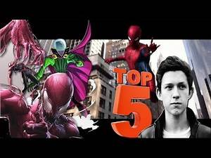 Top 5 Spiderman Villains Tom Holland Should Definitely Fight in Upcoming Spider-man Movies