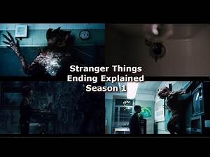 Stranger Things ENDING EXPLAINED - Season 1 Ending Theory