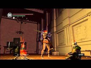 Dark Souls - flirting with Solaire of Astora