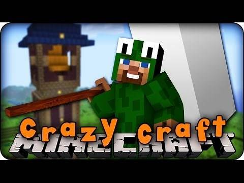 Minecraft Mods - CRAZY CRAFT 2.0 - Ep # 65 'BEST WEAPON EVER!! (Superhero Mod)