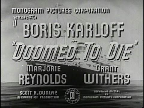 Doomed To Die (1940) [Crime] [Drama] [Mystery]