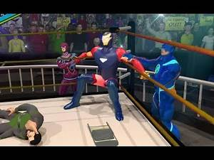 Ultimate Superhero Fighting Club Wrestling Games | Superhero Wrestling Arena Battle Android GamePlay