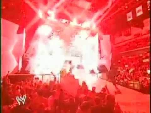 WWE Monday Night Raw Intro 2003 (Opening With Pyro) (HQ)