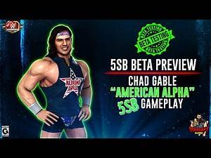 "5SB Beta Preview: Chad Gable ""American Alpha"" 5SB Gameplay ! / WWE Champions 😺"
