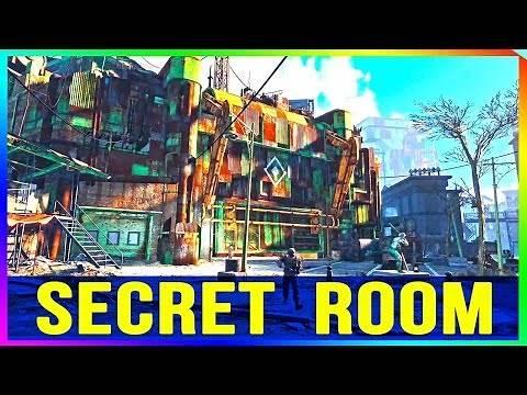 Fallout 4: Diamond City Secret Room Location! (NEW Easy Method)