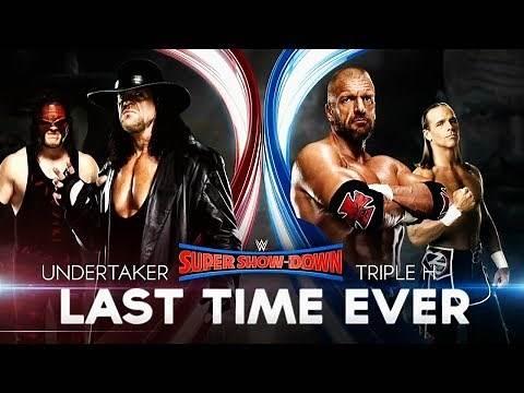 WWE Super ShowDown Promo 2018 - The Undertaker vs Triple H