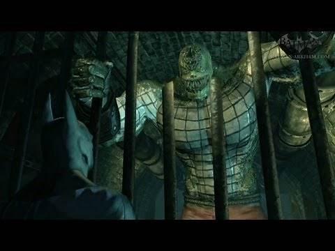 Batman: Arkham City - Easter Egg #6 - Killer Croc
