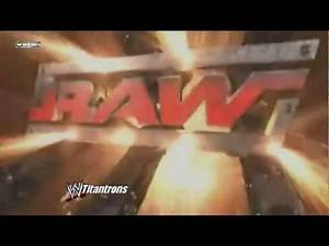 WWE RAW Opening (July 2005 - August 2005)
