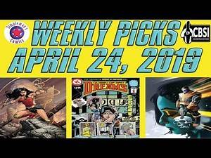 Weekly Picks for New Comic Books Releasing April 24, 2019