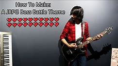 How To: Make a JRPG Boss Battle Theme in 5 Min or Less ( Full Song at the End) || Shady Cicada