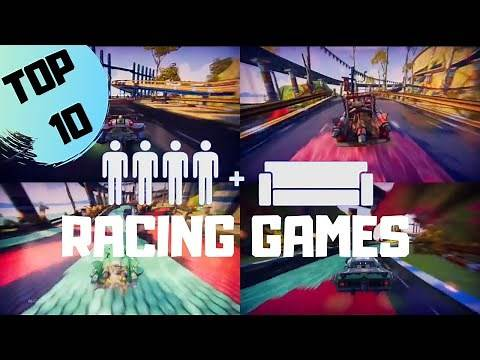 TOP 10 4 Player Splitscreen Racing Games 2020 on PS4 | Couch Co-op | PlayStation