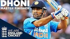 MS Dhoni - Master Finisher | England v India 2011 - Highlights