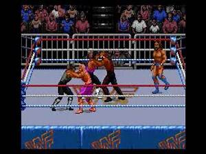 WWF Royal Rumble-(Genesis)- Royal Rumble Match