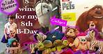 8 Claw Machine Wins The Secret Life of Pets Gidget on 8th Birthday | Claw Therapy | Smith Sisters