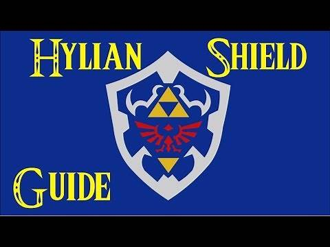 How to get the Hylian Shield & How to Defeat Stalnox Zelda Breath of the Wild