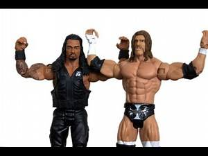 Roman Reigns & Triple H WWE Wrestlemania Heritage Battle Pack Figure Unboxing & Review!!