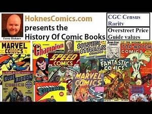 Golden Age Comic Book History Month 19 November 1939 12 Silver Streak Top Notch Fantastic Comics 1 o