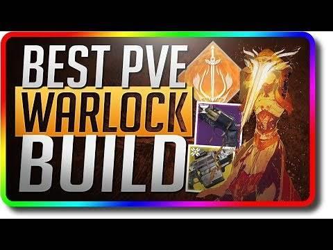 Destiny 2 - Best DPS Warlock Build (Destiny 2 Worthy Best Warlock Build For PvE)