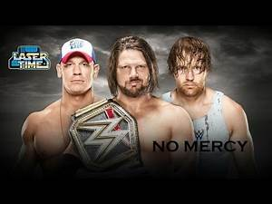 WWE No Mercy 2016 Predictions - Laser Time
