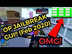 NEW JAILBREAK GUI!! (FEB 2020) (ROBLOX) Noclip, autorob, fly, gravity, speed...