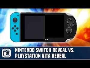 Versus - Nintendo Switch Reveal vs. PS Vita Reveal