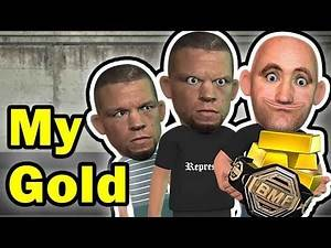 Dana White creating The BMF Belt From Gold