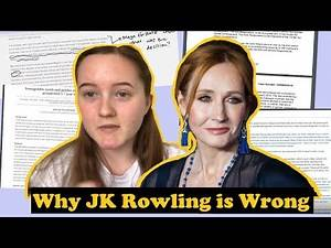 Law Student Analyses JK Rowling's Transphobic Tweets- Why JK Rowling is Legally Wrong