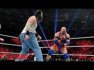 Ryback vs. Luke Harper: Raw, April 13, 2015