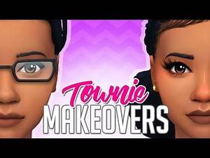 THE DELGATO'S | THE SIMS 4 TOWNIE MAKEOVERS