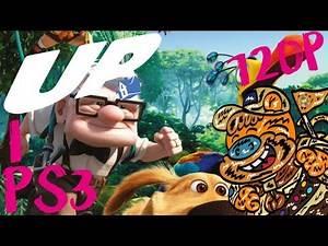 Disney Pixar s UP🏠🎈 part 1 / 720p PS3