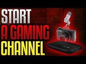 How to start a gaming channel (CHEAP EQUIPMENT) THE YOUTUBE STARTER PACK